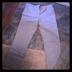 Gap true straight size 6r gray pants